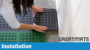 how to install staylock perforated tiles