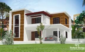 100 Contempory Home Beautiful Box Model Contemporary Home Kerala Design