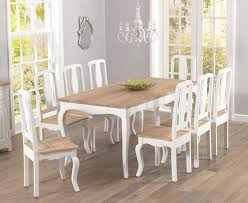 Shabby Chic Dining Room Table And Chairs by 20 Ideas Of Shabby Chic Dining Sets Dining Room Ideas