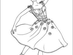 Pictures To Colour In Of Barbie Coloring Pages On
