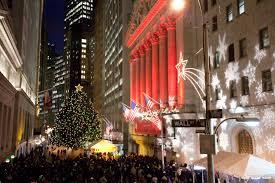 Prelit Christmas Tree Self Rising by New York City Christmas Trees Christmas Lights Decoration