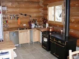 bois cuisine chalets maison bois rond