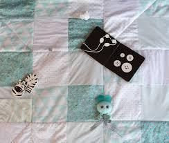 tapis d eveil couture carré magique tapis d éveil sac à jouets plaid 3 en 1