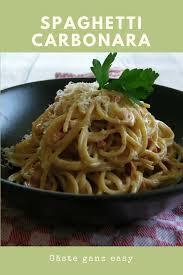 kokosmakronen und spaghetti carbonara einfache