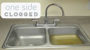 Garbage Disposal Backing Up Into 2nd Sink by How To Fix A Clogged Sink
