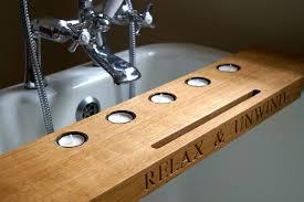 Bath Caddy With Reading Rack Uk by Bath Rack Wooden Epienso Com