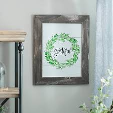Grateful Wreath Framed Art Print