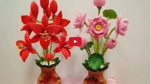 How To Make Paper Vase For Flowers