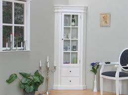 ebuy24 vitrine amaretta eckschrank weiß antik patiniert breite kaufen otto