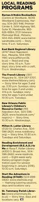 Classes In New Orleans Foster An Early Interest In Reading | New ... Barnes Noble Book Signing Renaissance At Colony Park Youtube Gber Collision Glass Retail 2501 Florida Street Property Capsule Woodridge Subdivision Homes Tribute Real Estate Online Bookstore Books Nook Ebooks Music Movies Toys Twain Album For Now The Grove In 46 Best Nolanorth Shore Images On Pinterest North Shore Mayjune 2015 Issue Of Inside Northside Magazine By Janfebruary 2016 Ben Carson In Fort Lauderdale