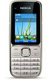 Nokia C2 01 5 Unlocked GSM Phone with 3 2 MP Camera and Music and Video Player