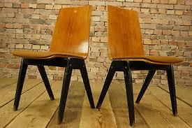 stoelen huis 60er vintage 4x esszimmer stuhl industrie