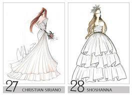 14 Royalty Wedding Dress Design Sketch Ideas For