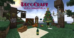 DecoCraft Mod for Minecraft 1 11 1 9 4 1 8 9 and 1 7 10