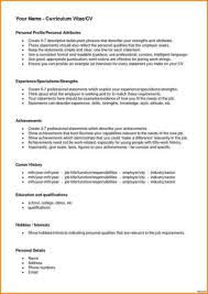 Resume Template For Young Adults Socalbrowncoats