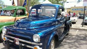 1953 METALLIC BLUE DODGE THREE QUARTER TON PICKUP TRUCK - YouTube
