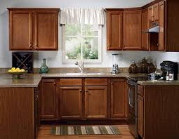 Menards Unfinished Oak Kitchen Cabinets by Quality One 15