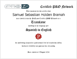 Bilingual And Bicultural Spanish English Translator