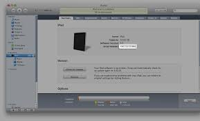 Apple iPad How to find the serial number UDID IMEI ICCID