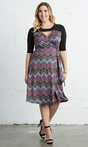plus size wrap dresses curvy fashion kiyonna clothing