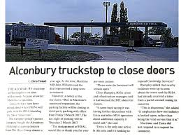 100 Nearby Truck Stop RHA News On Twitter Disastrous News That Alconbury Truckstop Is To