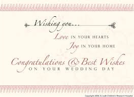 Wedding Card Greeting Messages