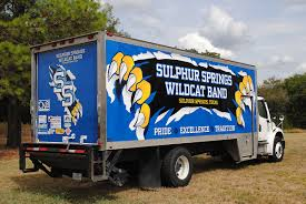100 Truck Band Sulphur Springs High School Box Wrap Car Wrap City
