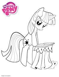 √ 9 Dessins De Coloriage My Little Pony Twilight Imprimer