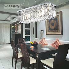 Rectangular Crystal Chandeliers Hot Modern Chandelier Dining Room Length And Inspiring