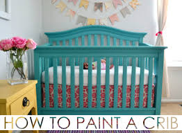 Bedroom Charming Baby Cache Cribs With Curtain Panels And by How To Paint A Crib Project Nursery Furniture Projects And