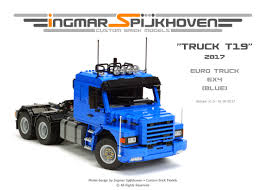 Instructions Truck T19 - Products - Ingmar Spijkhoven Lego City Race Car Transporter Truck Itructions Lego Semi Building Youtube Tow Jet Custom Vj59 Advancedmasgebysara With Trailer Instruction 6 Steps With Pictures Moc What To Build Legos Semitrailer Technic And Model Team Eurobricks And Best Resource