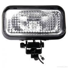 100 Work Lights For Trucks TruckLiteSignalStat 3x5 In 1 Bulb 1450 Lumen Black Rectangular