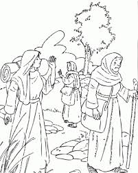Ruth Naomi Boaz Coloring Page Online Pages Ephesians In And