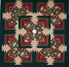 The Quilt Chef Sliced Pineapple Christmas Tree Skirt Kit