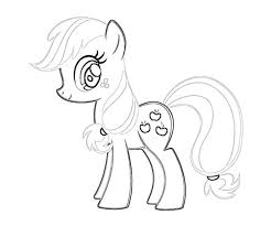 9 Pics Of Applejack Coloring Pages