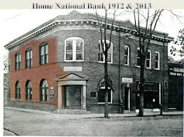 Home National Bank 1912 & 2013 Same Location Today ppt