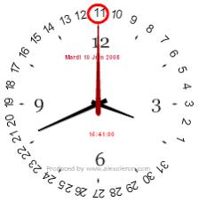 horloge sur pc bureau gratuit 28 images horloge pc bureau