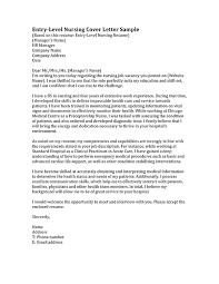 Registered Nurse Resume Cover Letter Examples