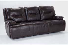 marco leather power reclining sofa bobs discount furniture galaxy
