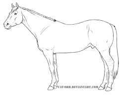 Click To See Printable Version Of Quarter Horse Coloring Page