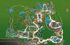 Busch Gardens Tampa Bay Park Map May 2017 ordinary Busch Gardens