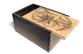 Diy Wooden Toy Box With Lid by Mike U0027s Wood Gifts By Design Sliding Lid Gift Box 3 5