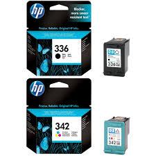 Original HP 336 342 Black Colour Combo Pack Ink Cartridges C9362EE C9361EE
