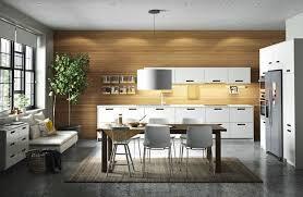 cuisine ikea blanche et bois cuisine ikea metod les nouveautés en avant première côté maison