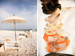 Shoe Valet For Beach Wedding Courtesy Of Floridian Social