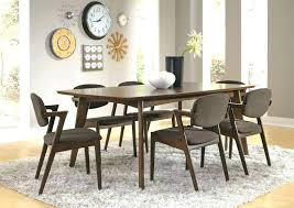 Contemporary Dining Room Furniture Table And Chairs Modern O