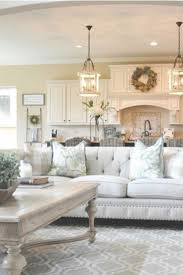 GORGEOUS Farmhouse Living Room Decor Ideas Love The Neutral Colors Used In