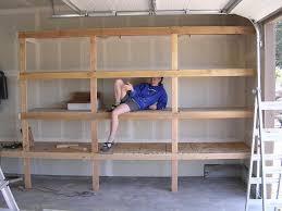 Diy Gun Cabinet Plans by Diy Garage Shelves For Your Inspiration Diy Garage Shelves