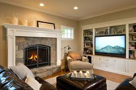 Living Room With Fireplace Design by 6 Ways To Warm Up The Living Room Without Turning Up The Heat