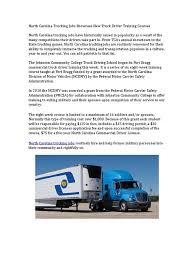 100 Grants For Truck Driving School North Carolina Ing Jobs Showcase New Driver Training